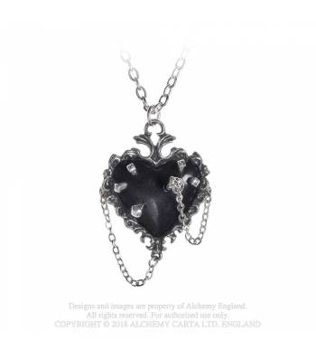 Witch Heart Pendant (P855)