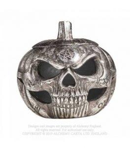 Pumpkin Skull Pot [V93]